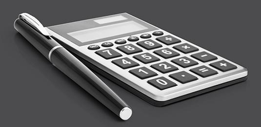 calculator-grey